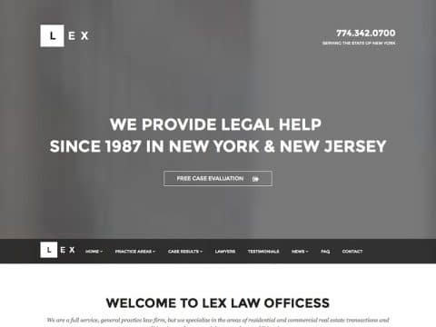LEX Business WP Theme