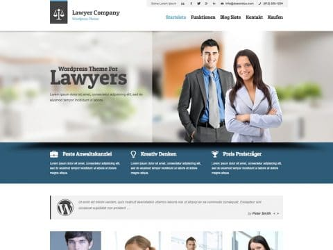 Lawyer WP Theme