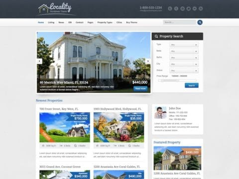 Locality WP Theme