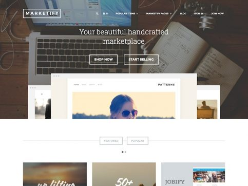 Marketify Marketplace WordPress Theme