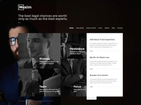 Maxim WordPress Theme