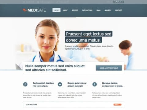 Medicate Medical WP Theme
