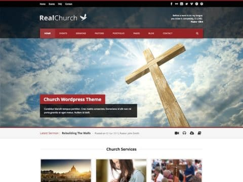 Real Church WP Theme