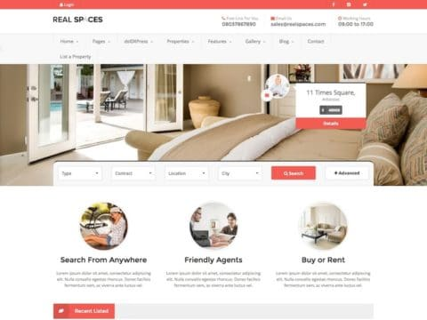 Real Spaces WP Theme