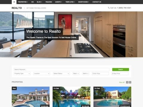Realto WordPress Theme