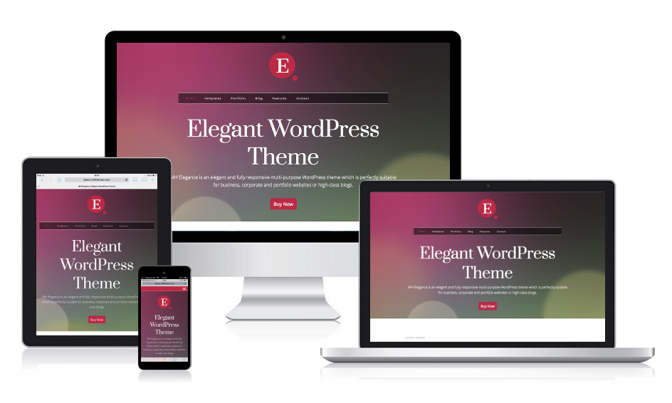 MH Elegance Responsive WordPress Theme