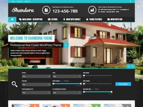 Shandora WP Theme