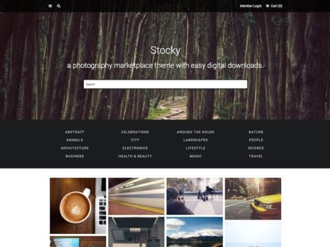 Stocky WordPress Theme