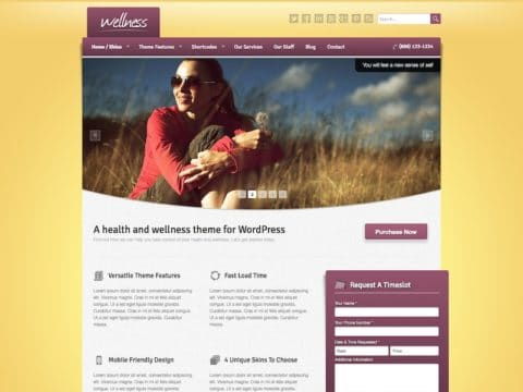 Wellness Medical WP Theme