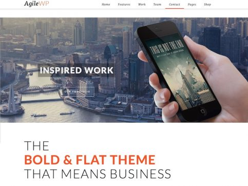 Agile WordPress Theme