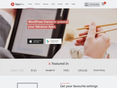 Appdev WordPress Theme