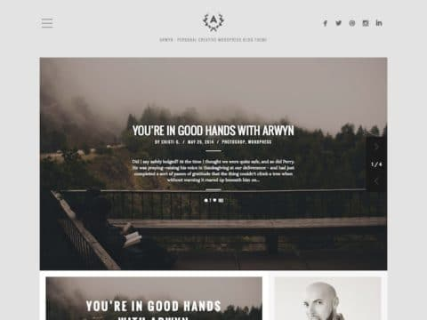 Arwyn WordPress Theme