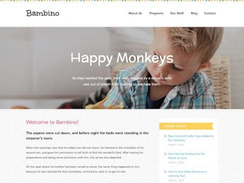 Bambino WordPress Theme