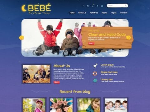 BeBe WordPress Theme