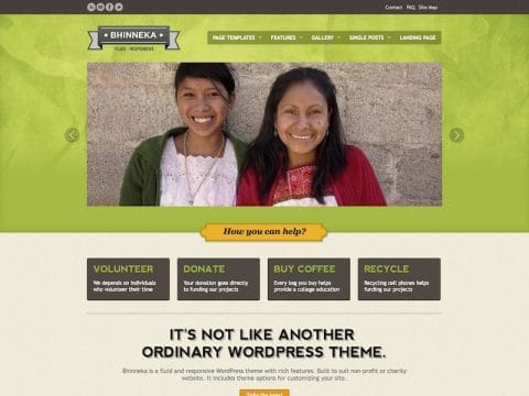 Bhinneka WordPress Theme