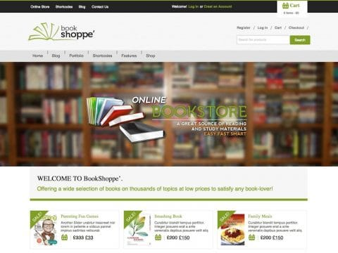 Book Store WP Theme