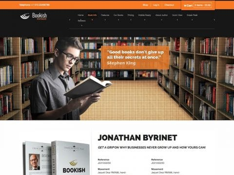 Bookish WordPress Theme