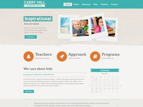 Carry Hill WordPress Theme