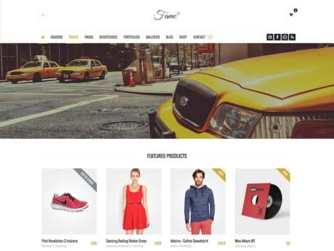 Fame WordPress Theme