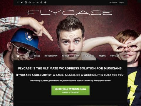Flycase WordPress Theme