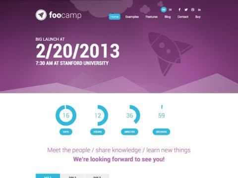 FooCamp WordPress Theme