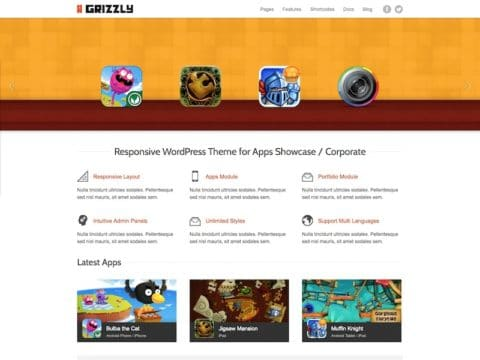 Grizzly WordPress Theme