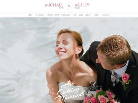 Honeymoon WordPress Theme