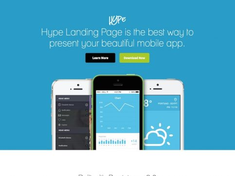 Hype WordPress Theme