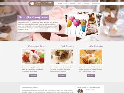 JustShop WordPress Theme