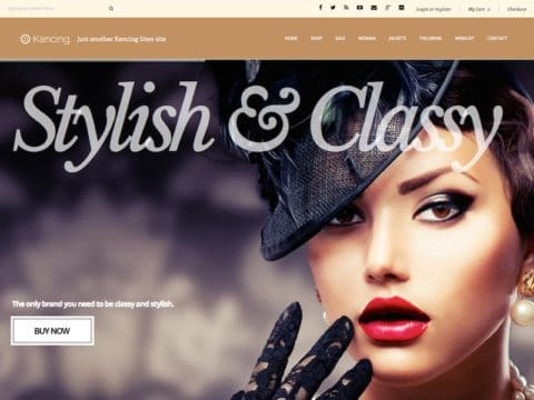 Kancing WordPress Theme
