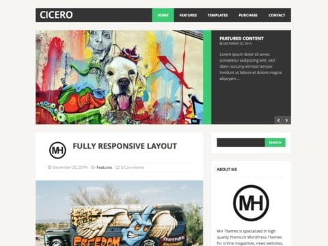MH Cicero WordPress Theme