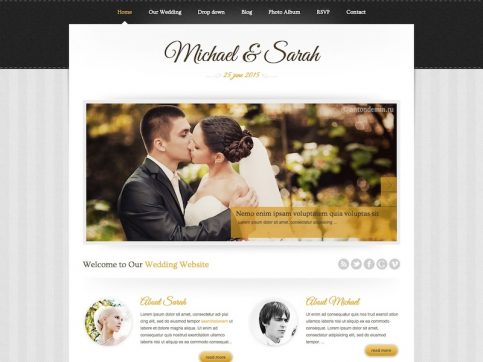 Marriage Wedding WordPress Theme