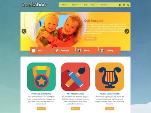 Peekaboo WordPress Theme