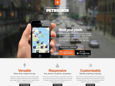 Petrichor WordPress Theme