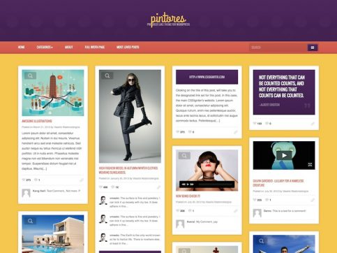 Pintores WordPress Theme