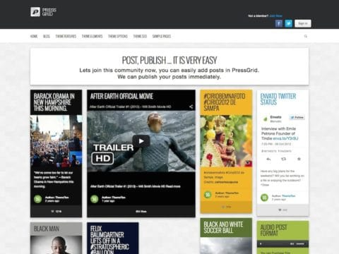 PressGrid WordPress Theme
