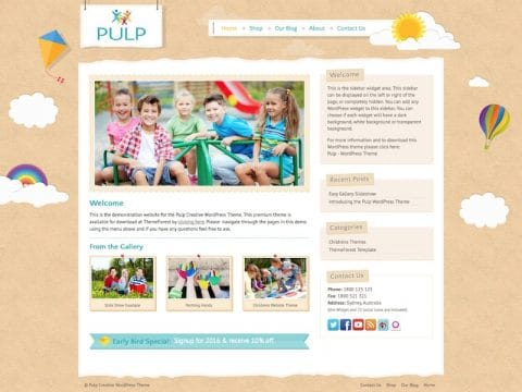 Pulp WordPress Theme