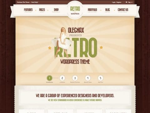 Retro WP WordPress Theme
