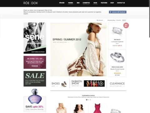 RoeDok WordPress Theme
