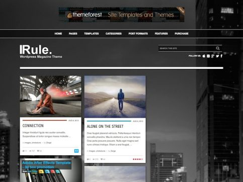 Rule WordPress Theme