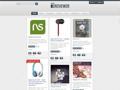 SmartReviewer WordPress Theme