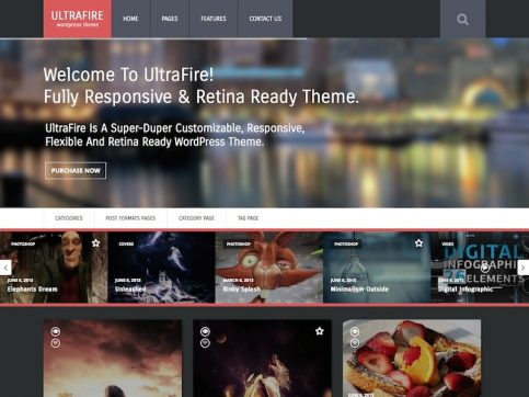 UltraFire WordPress Theme
