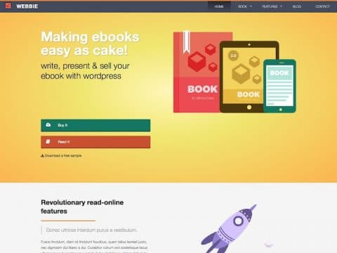 Webbie WordPress Theme