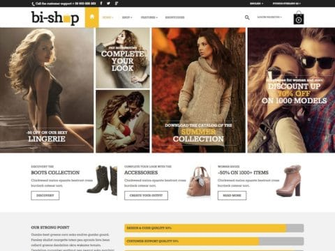 bi-shop WordPress Theme
