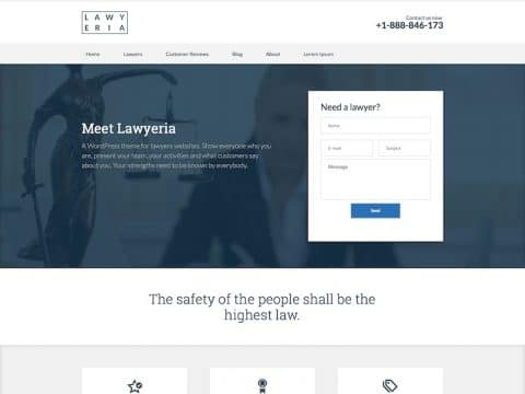 Lawyeria WP Theme