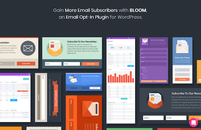 Bloom WordPress Plugin