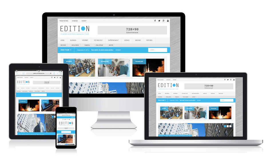 MH Edition Magazine WordPress Theme
