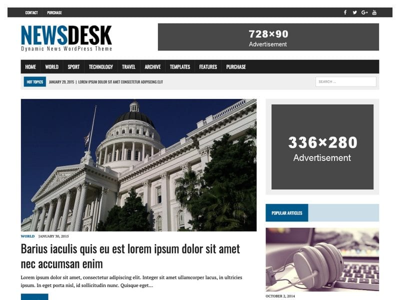 Preview MH Newsdesk lite