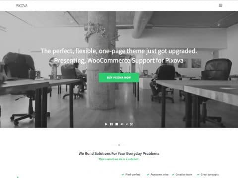 Pixova WordPress Theme