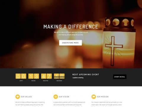 Church Suite WordPress Theme